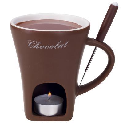 Fondue taza chocolate Chocolat 3 piezas