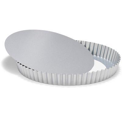Molde redondo tartaleta base móvil