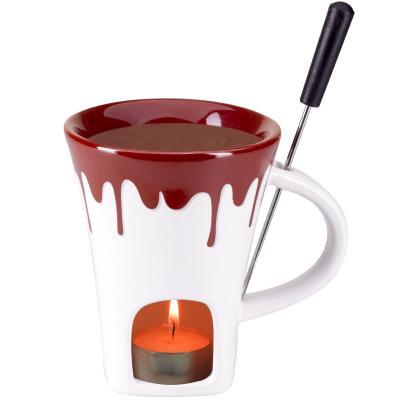 Fondue taza chocolate Schokolade 3 piezas