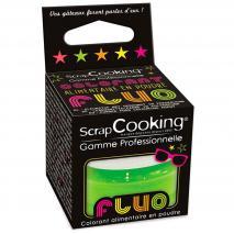 Colorante alimentario polvo Fluorescente verde 3 g