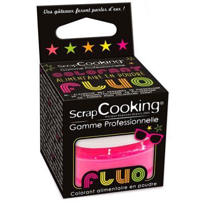 Colorante alimentario polvo Fluorescente fucsia 3g