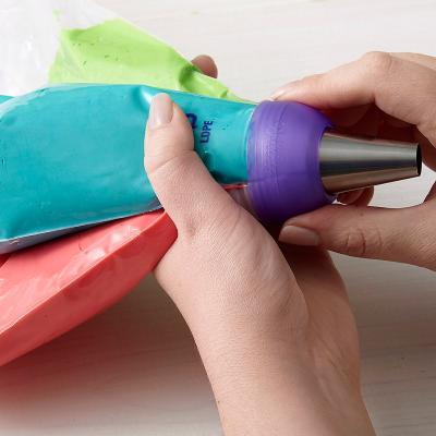 Adaptador grande Color Swirl Tricolor