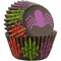 Papel mini cupcakes x100 Araña