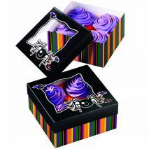 Set 3 cajas cupcakes Halloween terrorífica