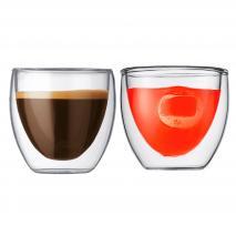 Set 2 mugs térmicos bodum Pavina