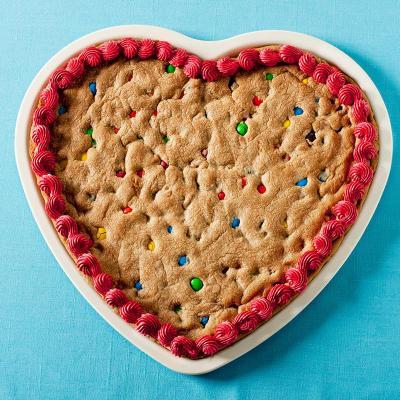 Molde Pizza Cookie Corazón Colors Nordic Ware