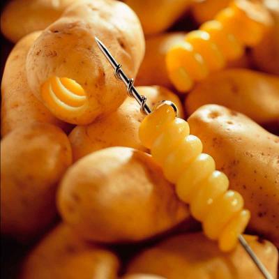 Espirales patatas
