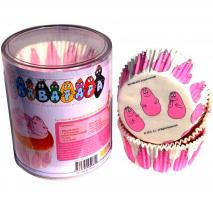 Papel cupcakes Barbapapa x65