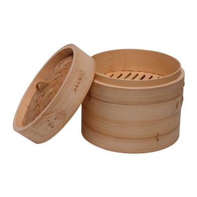 Vaporera bambú