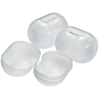 Caja de plástico para huevos de pascua