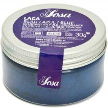 Colorant laca liposoluble pols 30 g blau