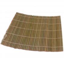 Esterilla sushi mat bambú 24x24 cm