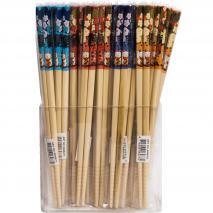 1 par palillos japoneses surtidos