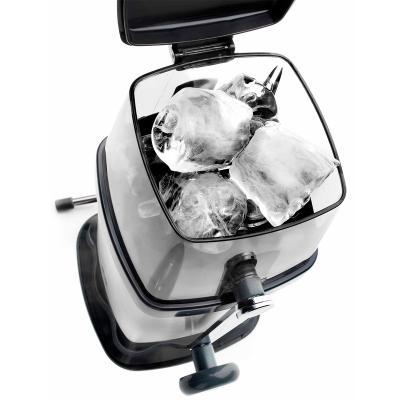 Picadora hielo manual en acero inox.