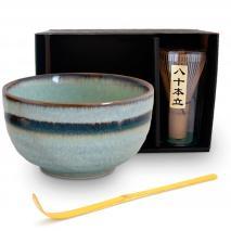 Set japonés té matcha verde 3 piezas