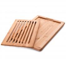 Tabla cortar pan bambú 40x30