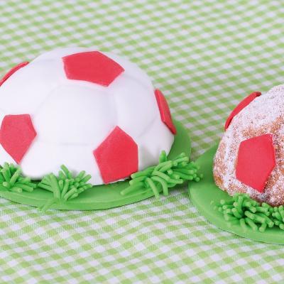 Molde pelota de fútbol