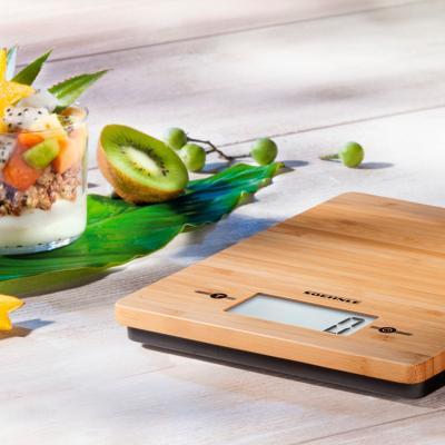Balanza de cocina Soenhle bambú natural