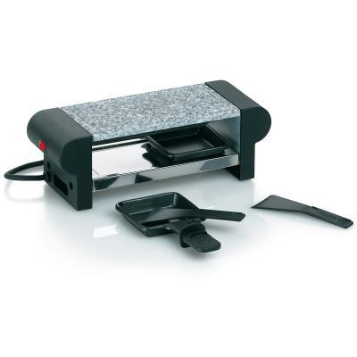 Mini raclette eléctrica piedra