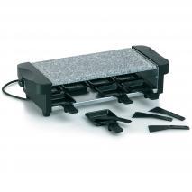 Raclette eléctrica piedra