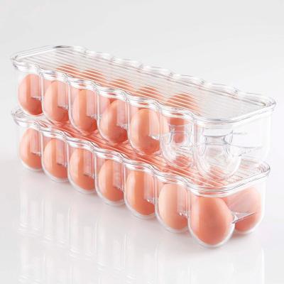 Huevera para nevera x14 huevos con tapa
