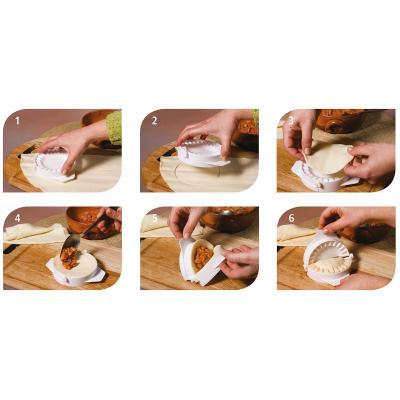 Juego 4 moldes empanadillas (5+7+10+13 cm)