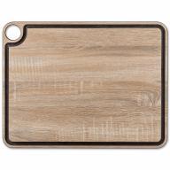 Tabla cortar Arcos fibra madera natural con canal