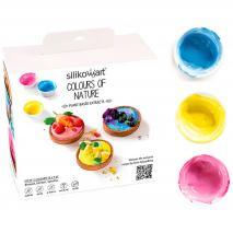 Set 3 colorants Naturals en pols 3x5 g