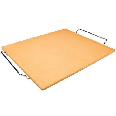 Piedra pizza y horno con soporte 40x35 cm
