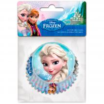 Papel cupcakes x60 Frozen