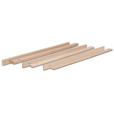 Juego maderas niveladoras rodillo , h: 0,3, 0,5 y