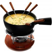 Set fondue queso cerámica Boska