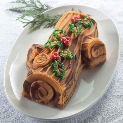 Molde pastel Tronco de Navidad Nordic Ware 2,12 l