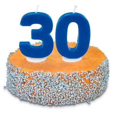Vela pastel aniversario nº 3