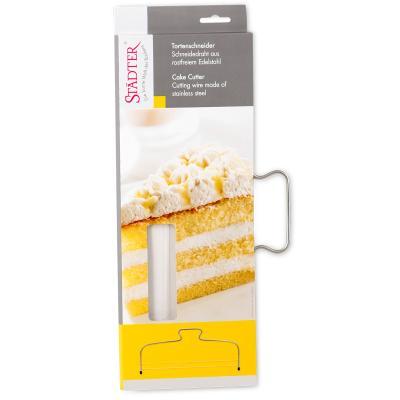 Lira corta-pasteles con 2 cortes de 32 cm