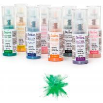 Spray pump comestible brillant 6 g verd