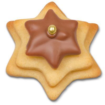 Juego 3 cortadores galletas Estrella mini