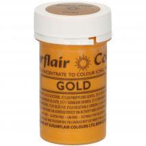 Colorante en pasta concentrado 25 g oro satin