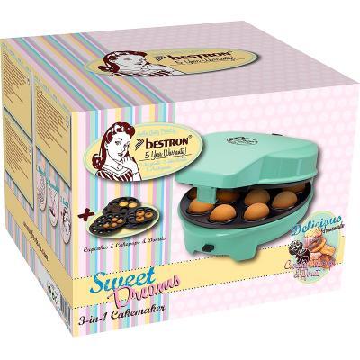 Máquina para donuts, cupcakes y cakepops Bestron