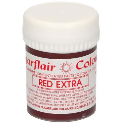Colorante en pasta concentrado 42 g extra rojo
