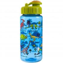 Botella agua con pajita Dinos