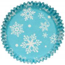 Paper cupcakes Frozen x48