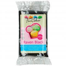 Fondant FunCakes 250 g raven black negro