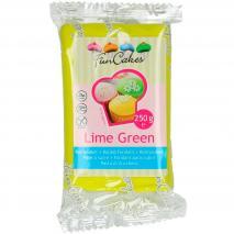 Fondant FunCakes 250 g verde lima