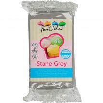 Fondant FunCakes 250 g gris pedra