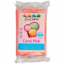 Fondant FunCakes 250 g rosa coral