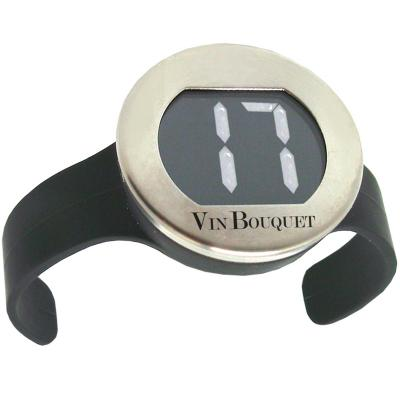 Termómetro digital para vino exterior botella