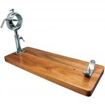 Jamonero cabezal giratorio madera acacia