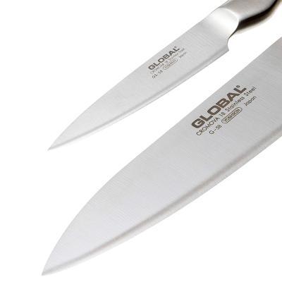Juego 2 ganivets Global Master Chef