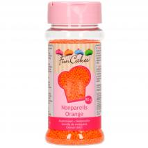 Sprinkles nonpareils 80 g naranja